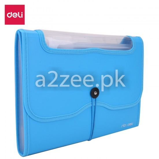 Deli Stationery - Expanding File (01 Piece)