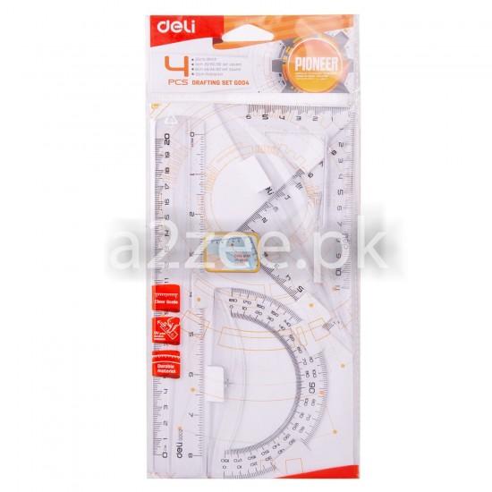 Deli Stationery - School Ruler Set