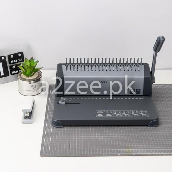 Deli Stationery - Binding Machine & Consumables (01 Per Piece)