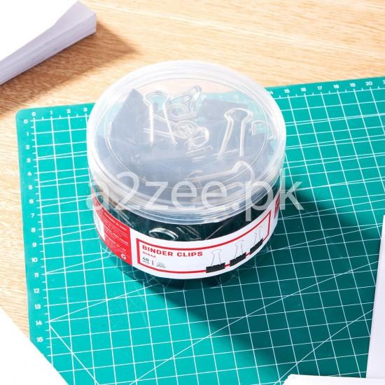 Deli Stationery - Binder Clip (48 Clips Per Box)