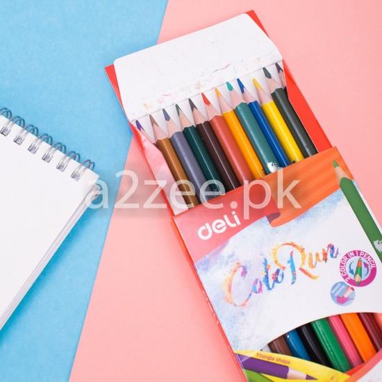 Deli Stationery - Colored Pencil (24 duo colors)