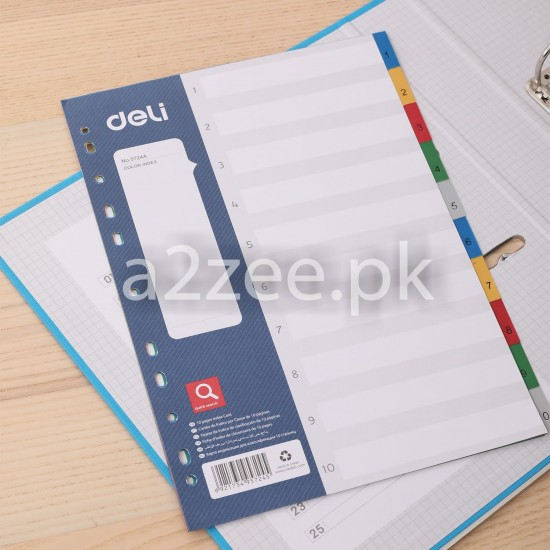 Deli Stationery - Dividers