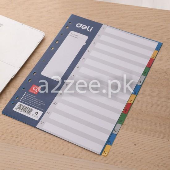 Deli Stationery - Dividers (01 Per Piece)