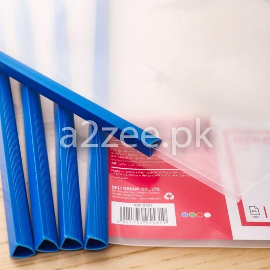 Deli Stationery - Sliding Bar / Report File (01 Piece)