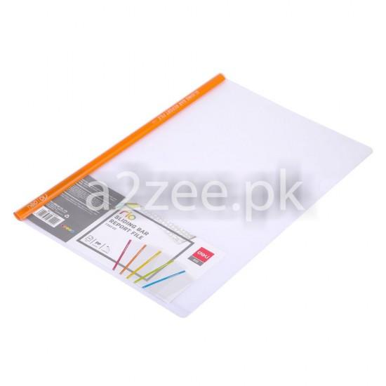 Deli Stationery - Sliding Bar / Report File  (5 Piece/Bag)