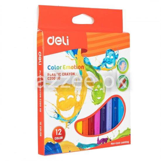Deli Stationery - Oil Pastel (12 colors)