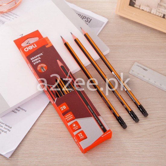 Deli Stationery - Graphite Pencil (12 Per Box)