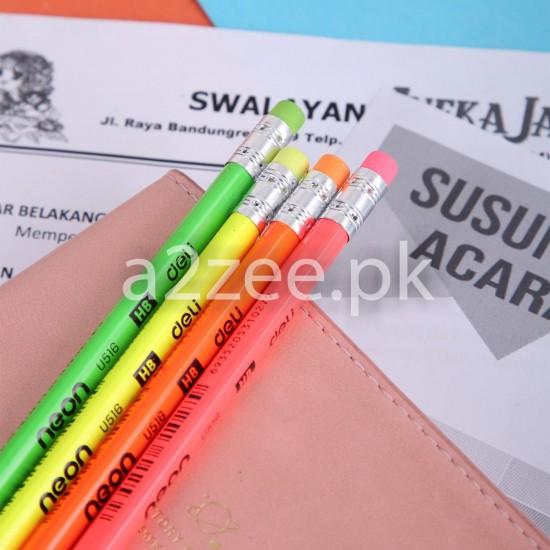Deli Stationery - Neon Graphite Pencil (12 Per Box)