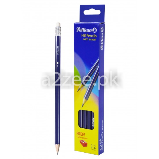 Pelikan Stationery - Pencil with Eraser and sharpener