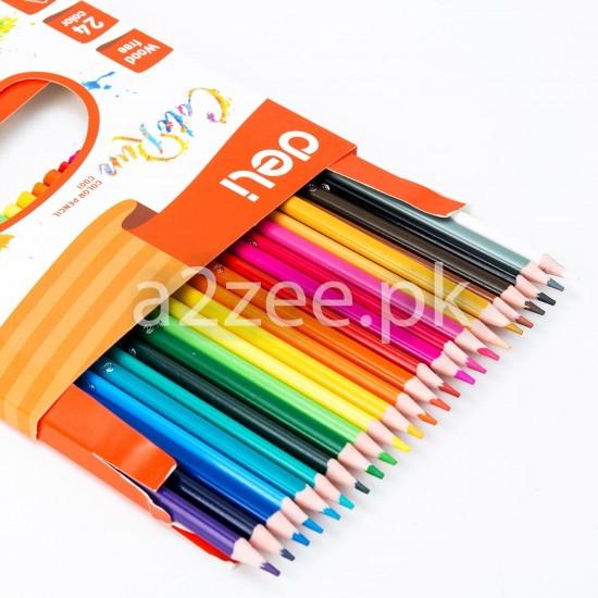 Deli Stationery - Colored Pencil (24 colors)