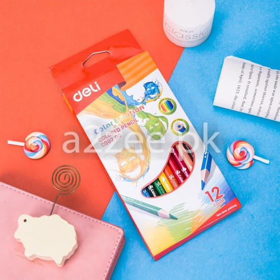 Deli Stationery - Colored Pencil (12 colors)