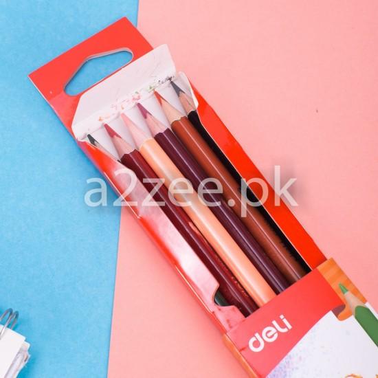 Deli Stationery - Colored Pencil (12 duo colors)