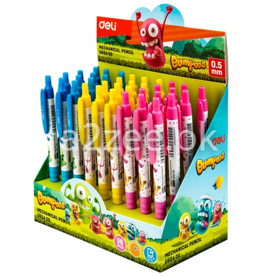 Deli Stationery - Mechanical Pencil & Leads (01 Piece)
