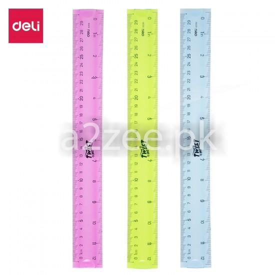 Deli Stationery - School Straight Edge (01 Per Piece)