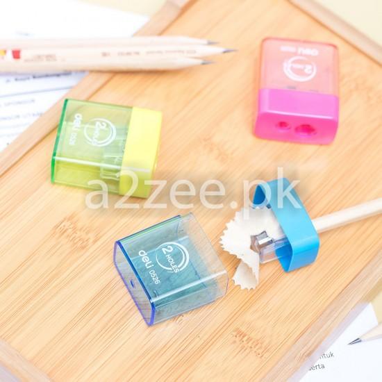Deli Stationery - School Pencil Sharpener (01 Per Piece)