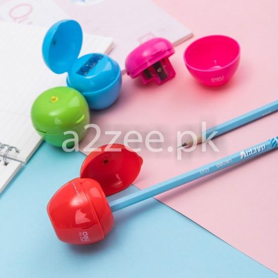 Deli Stationery - School Pencil Sharpener (01 Piece)