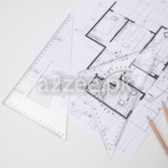 Deli Stationery - School Set-square (01 Per Piece)